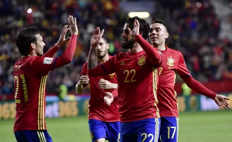 Spania, în linie dreaptă cu pregătirile pentru Cupa Mondială. Ibericii dau piept cu Tunisia