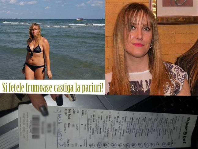 Biletul WIN al blondei din Buzău. Toți au întors capul după ea când s-a dus să ridice banii!