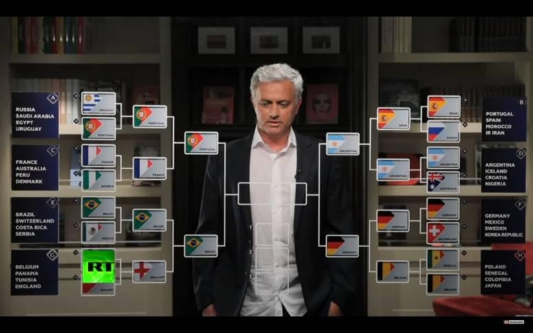 Ponturile lui Jose Mourinho pentru Cupa Mondială 2018