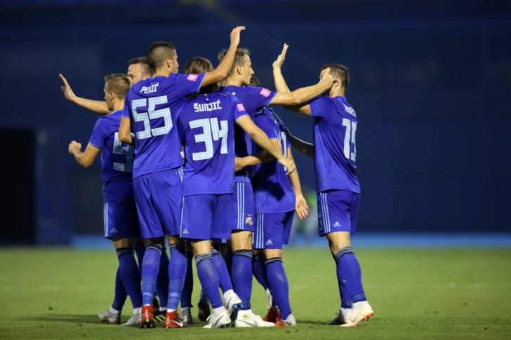 Grup jucători Dinamo Zagreb, Croatia