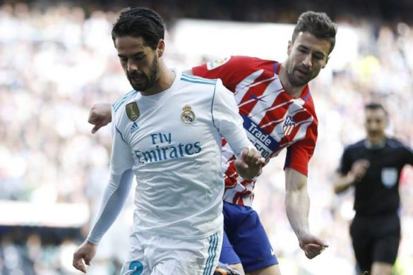 Isco, Gabi, Real Madrid, Atletico Madrid, La Liga, Spania