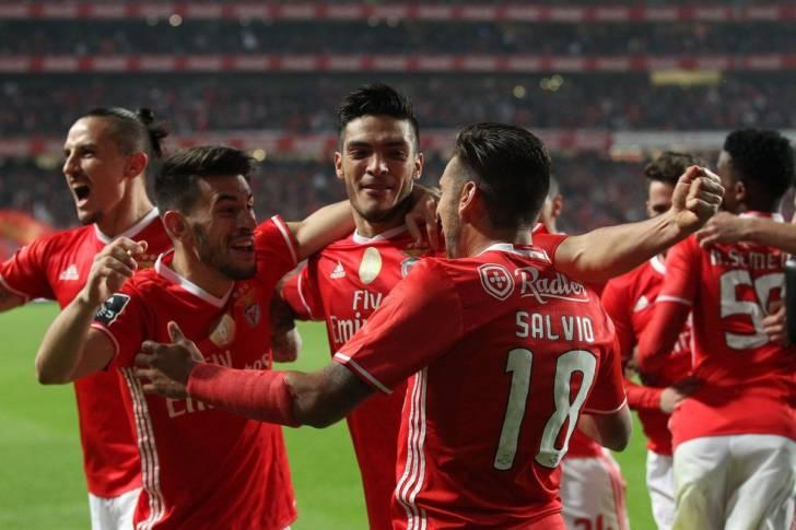 Grup jucători Benfica, Portugalia