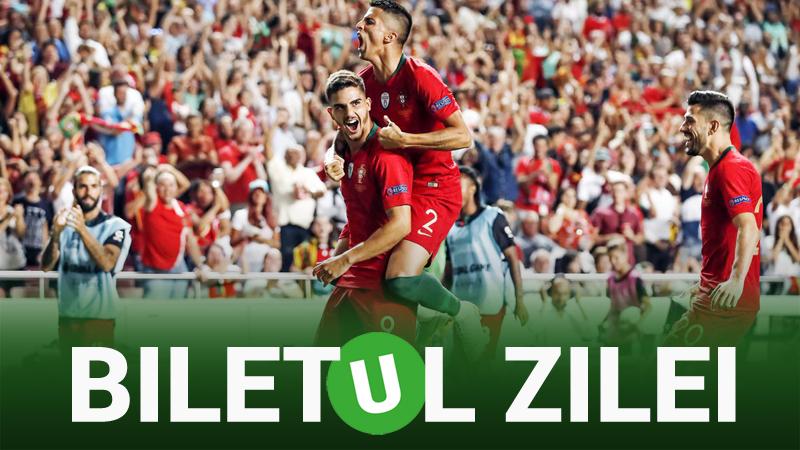 Biletul Zilei Unibet 11.10.2018. 2 ponturi de încredere din Nations League