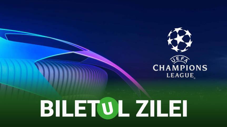 Biletul Zilei Unibet 27.11.2018. Cele mai tari două ponturi din Liga Campionilor