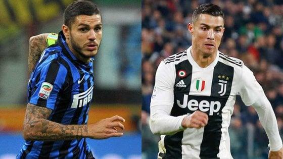 5 ponturi pariuri pentru Juventus – Inter. Cotă excelentă pentru ca Icardi să marcheze un gol