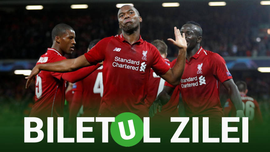 Biletul Zilei Unibet 16.12.2018. Cel mai tare pont la Liverpool – United