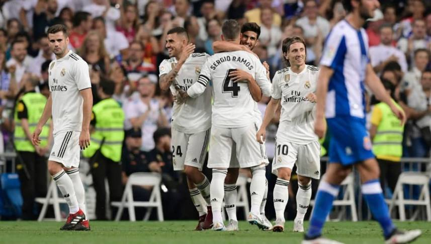Cele mai pariate 5 ponturi la Espanyol – Real Madrid. Cota totală e 7,52